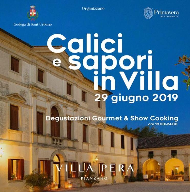 Calici e Sapori in Villa a Godega S.Urbano, Treviso