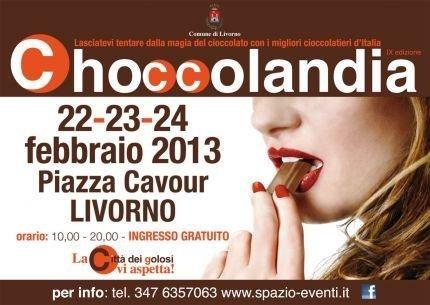 Choccolandia 2013, a Livorno e Cecina la festa del cioccolato artigianale