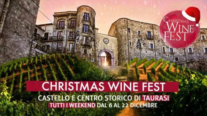 Christmas Wine Fest - Taurasi