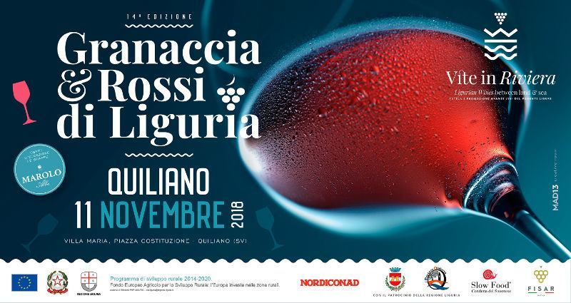 Granaccia e Rossi di Liguria 2018