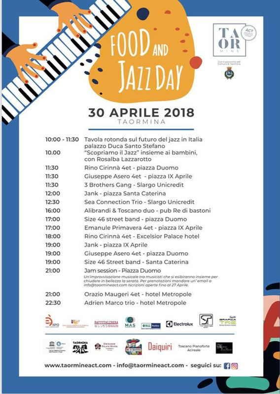 Food and Jazz day