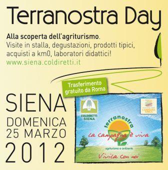 Terranostra Day 2012 a Siena