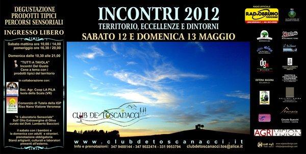Incontri - Territorio, Eccellenze e Dintorni con il Club de' Toscanacci