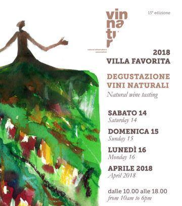 Villa Favorita 2018 - VinNatur festeggia i vini naturali