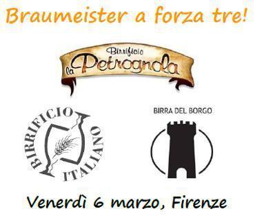 Serata speciale alla birreria Braumeister di Firenze