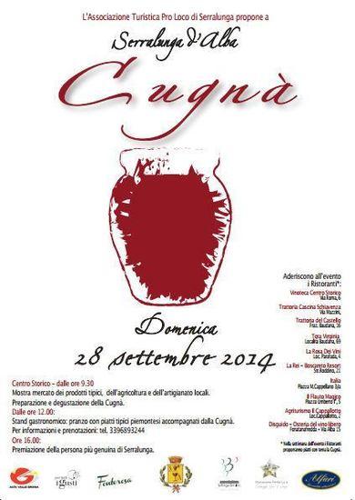 Cugnà, II edizione a Serralunga d'Alba