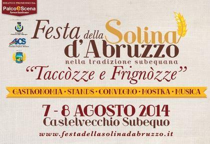 Festa della Solina d'Abruzzo a Castelvecchio Subequo