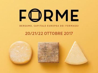 Forme, Bergamo capitale europea dei formaggi 2017