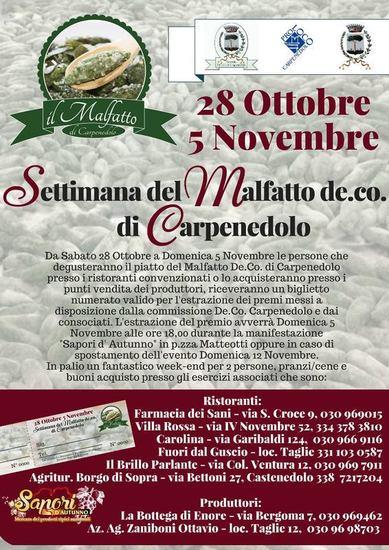 Settimana del Malfatto De. Co. di Carpenedolo (BS)