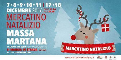 Mercatino Natalizio 2016 a Massa Martana