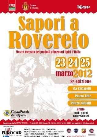Sapori a Rovereto, mostra mercato dei prodotti tipici