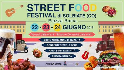 Street Food Festival 2018 a Solbiate (CO)