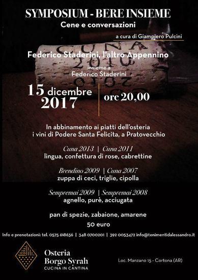 Symposium – Bere insieme
