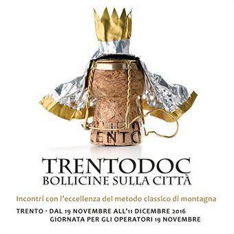 Trentodoc, Bollicine sulla città