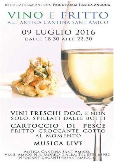 Vino e Fritto al'Antica Cantina Sant'Amico