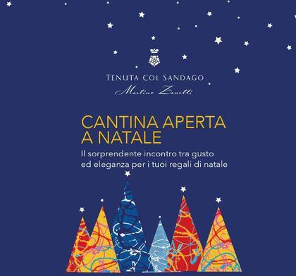 Cantina aperta a Natale da Tenuta Col Sandago - Case Bianche