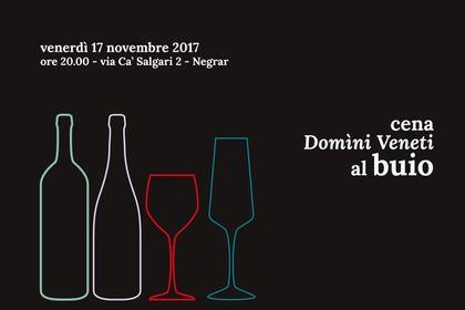 Cena al buio in Cantina Valpolicella Negrar