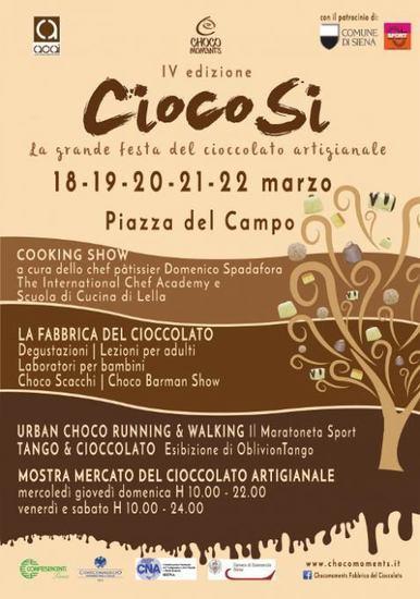 CiocoSì: i migliori artigiani cioccolatieri d'Italia si incontrano a Siena