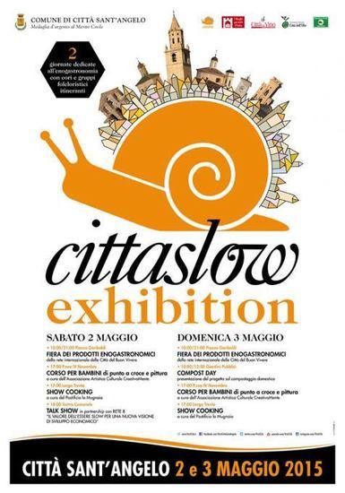 Cittaslow Exhibition I edizione a Città Sant'Angelo