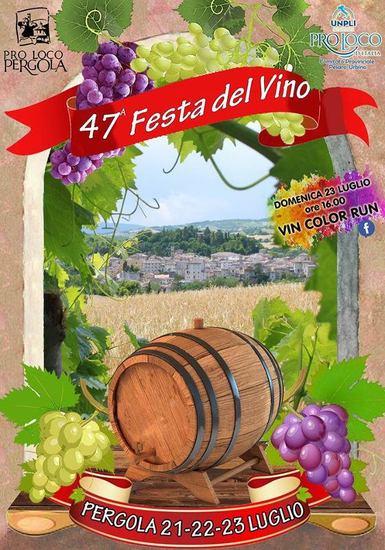47^ Festa del Vino a Pergola