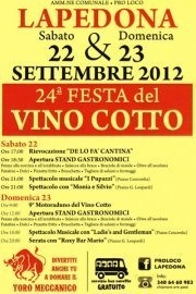 Festa del Vino Cotto 2012 a Lapedona