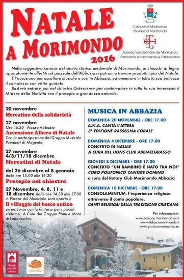 Natale a Morimondo e Mercatino Enogastronomico della Certosa