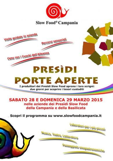 Presidi Porte Aperte - Slow Food Campania e Basilicata