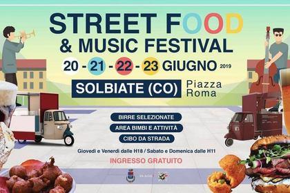 Street Food Festival 2019 a Solbiate (CO)