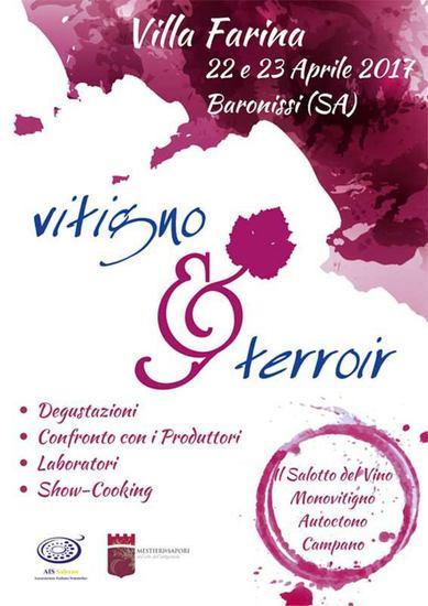 Vitigno & Terroir 2017 in Villa Farina