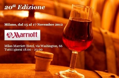Weekend della degustazione - Mostra mercato all'Hotel Marriott di Milano