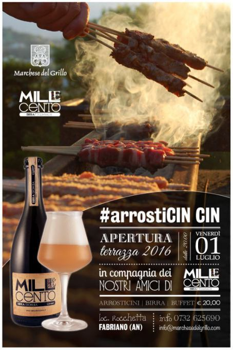 ArrosticinCIN CIN al Marchese del Grillo