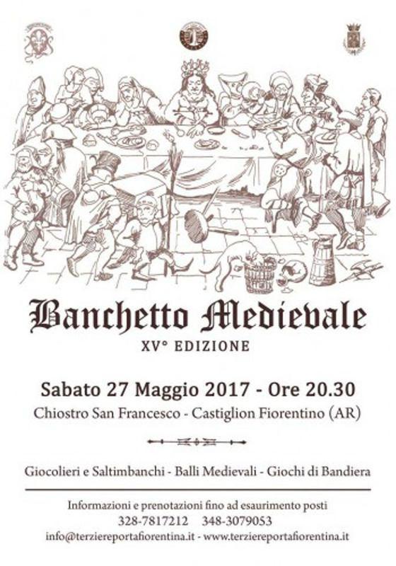 15ª edizione del Banchetto Medievale di Castiglion Fiorentino