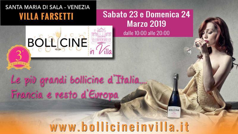 Bollicine in Villa 2019