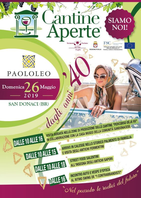Cantine Aperte 2019 -  Cantine Paololeo