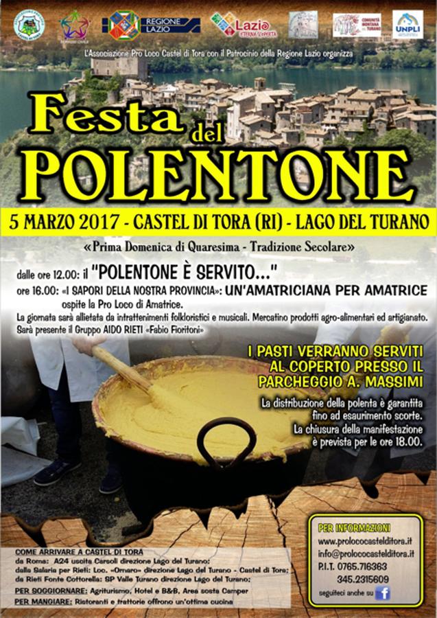 Festa del polentone - Castel di Tora (Ri)
