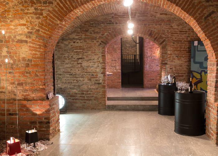Degustazione dei vini della cantina bastianich a milano for Planimetrie della cantina