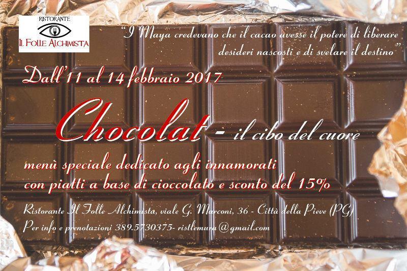 Chocolat - San Valentino al Ristorante Il Folle Alchimista