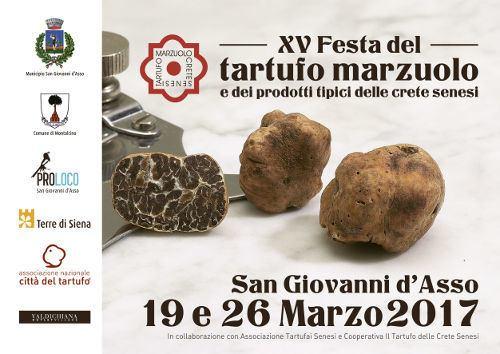 XV FESTA DEL TARTUFO MARZUOLO - SAN GIOVANNI D'ASSO