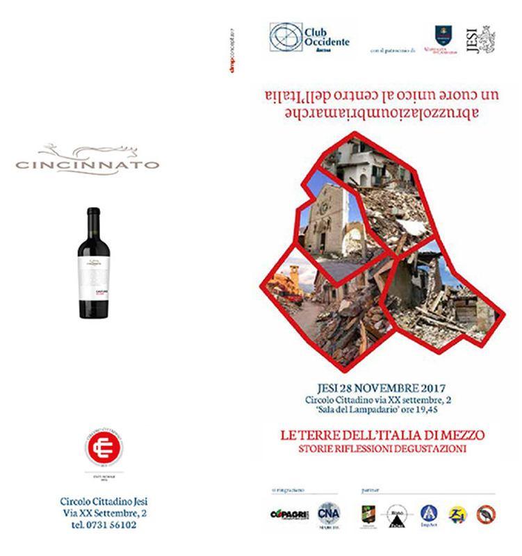 Siamo un cuore unico - Le terre dell'Italia di mezzo: storie, riflessioni e degustazioni