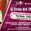 Festa del vino in via Bixio