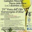 Festa dell'Olio Extravergine d'Oliva 2012 a Castiglion Fibocchi