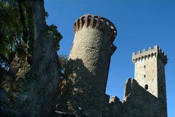 Particolare del Castello dei Vescovi di Luni ©Studio fotografico Tommaso Malfanti