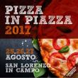 Pizza in Piazza a San Lorenzo in Campo